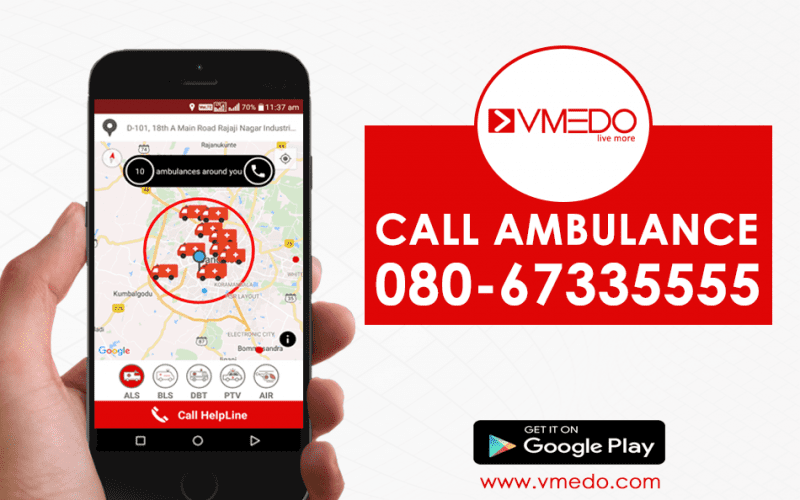 Global Ambulance Service app - VMEDO