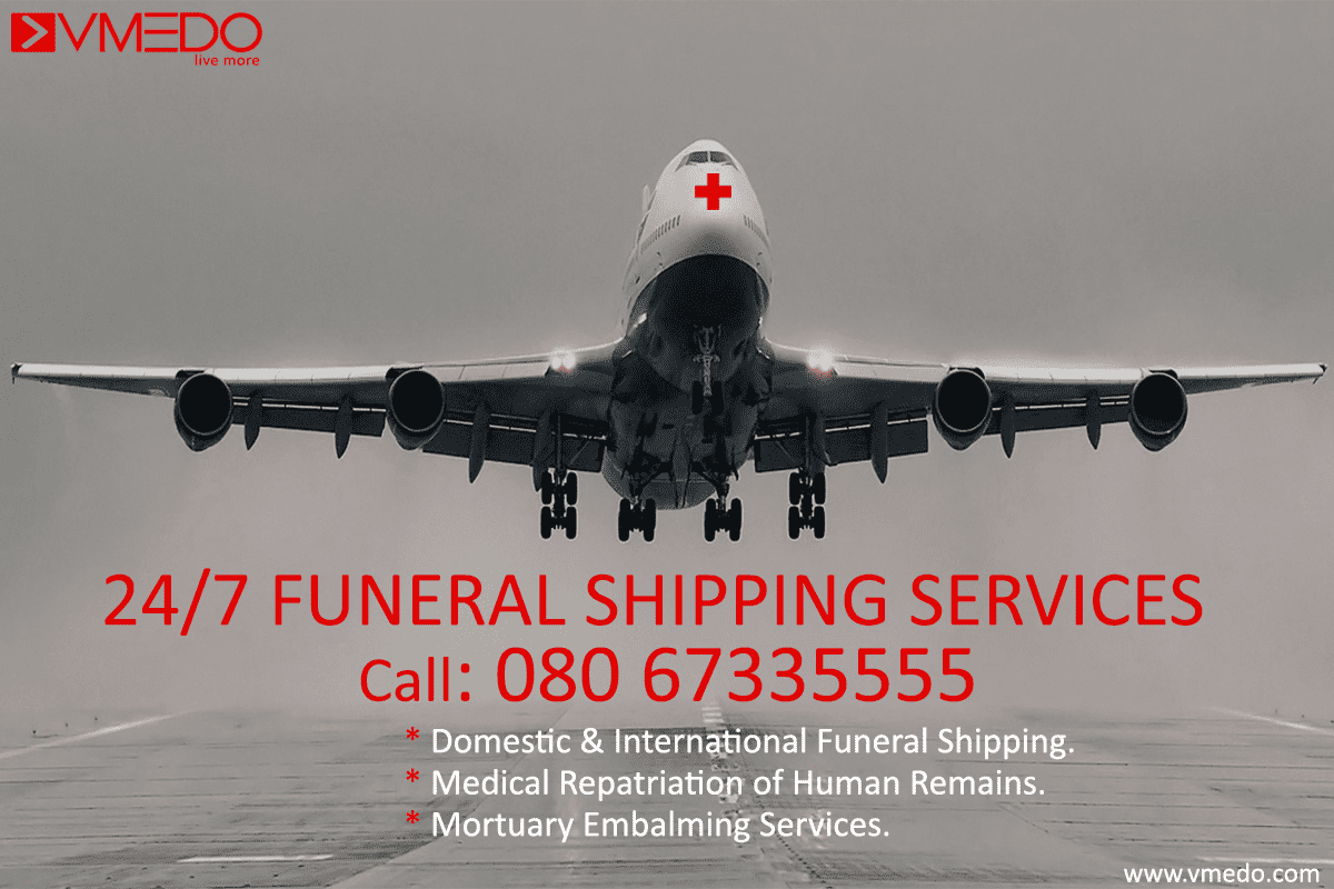 Funeral shipping services in India