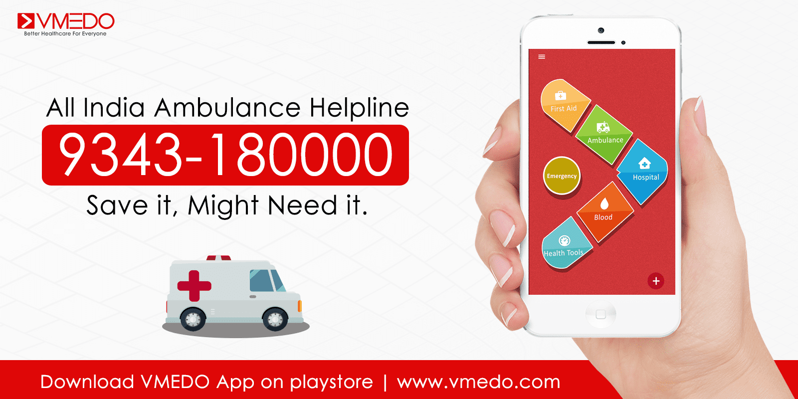 VMEDO-ambulance-helpline