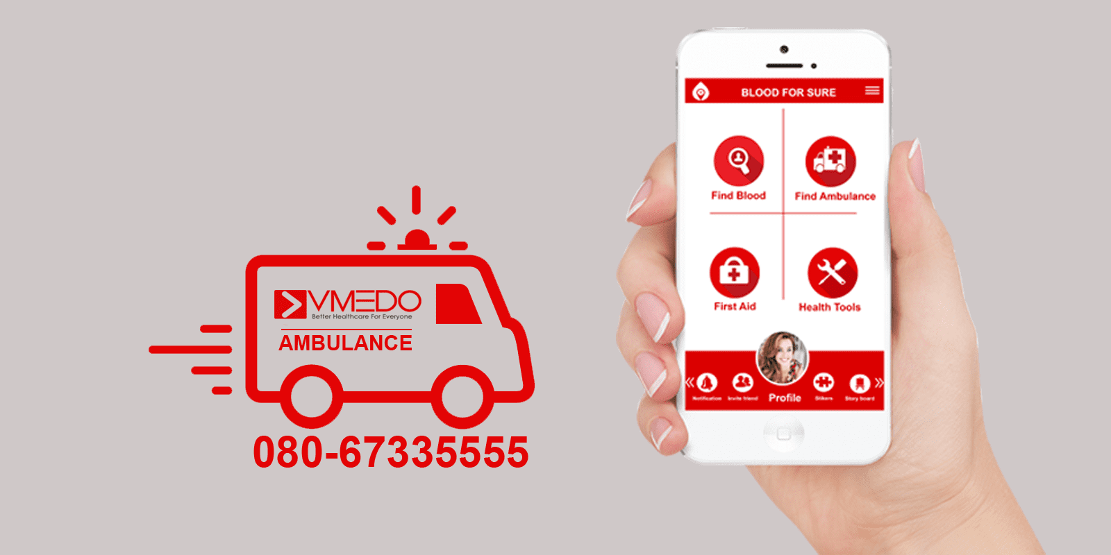 vmedo-ambulance app