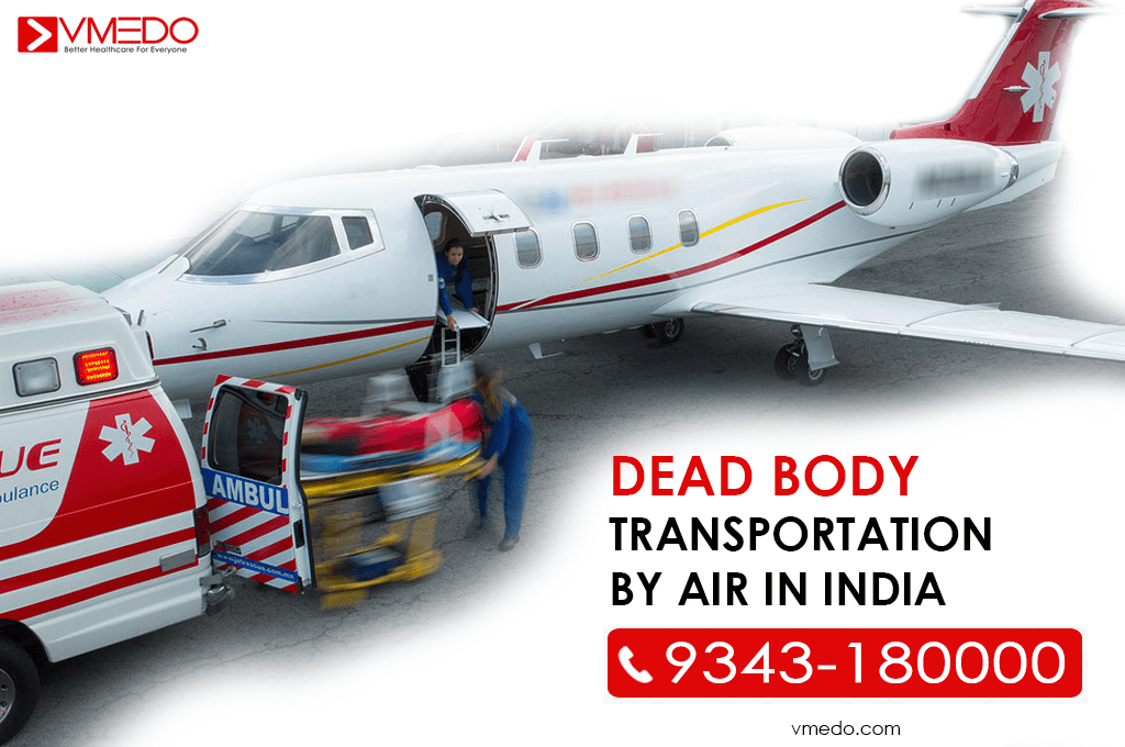 dead body transportation by air