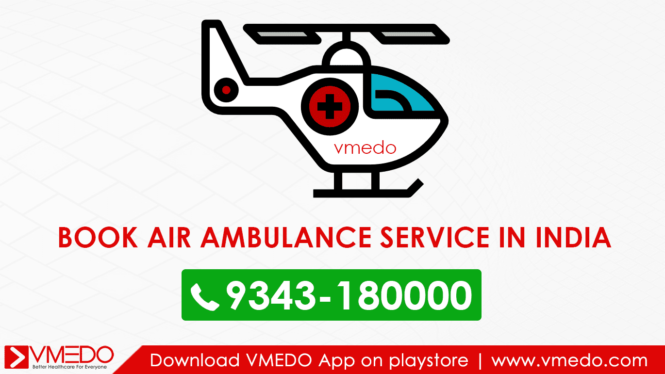 Book air ambulance in india