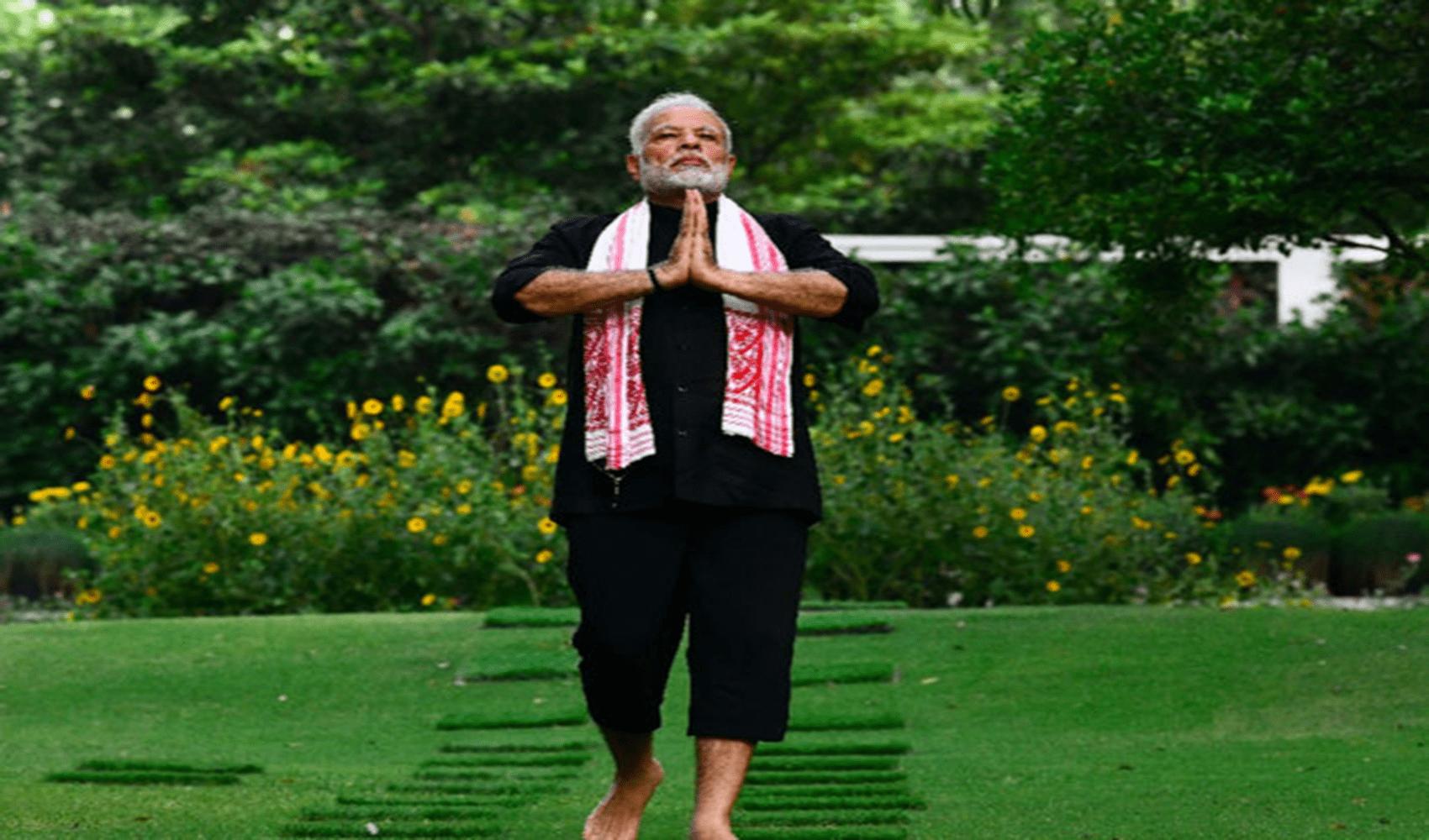 Narendra Modi Fitness