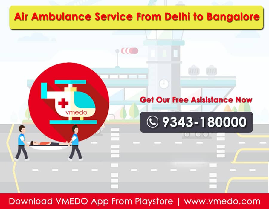 ambulance_service_from_delhi to bangalore