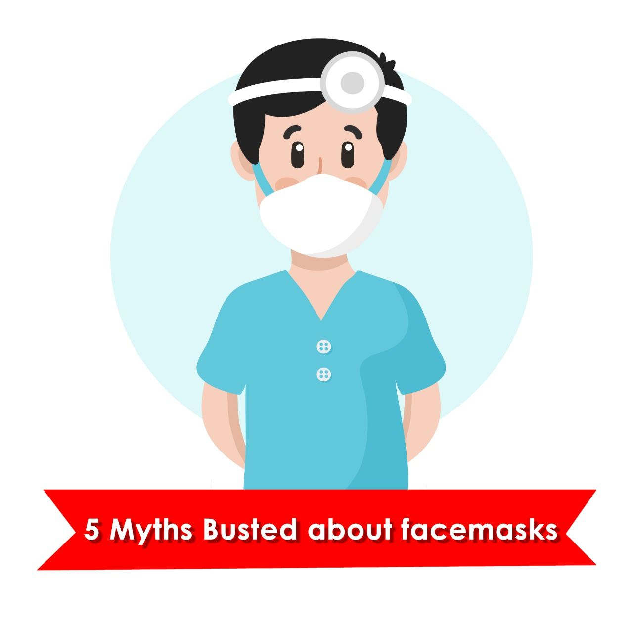 Myths on facemask during COVID-19