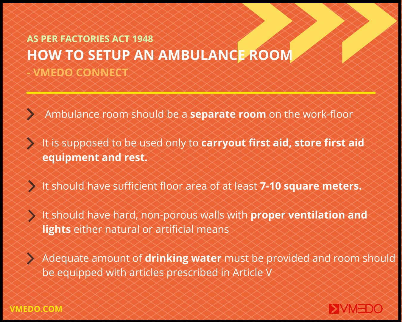 Ambulance room